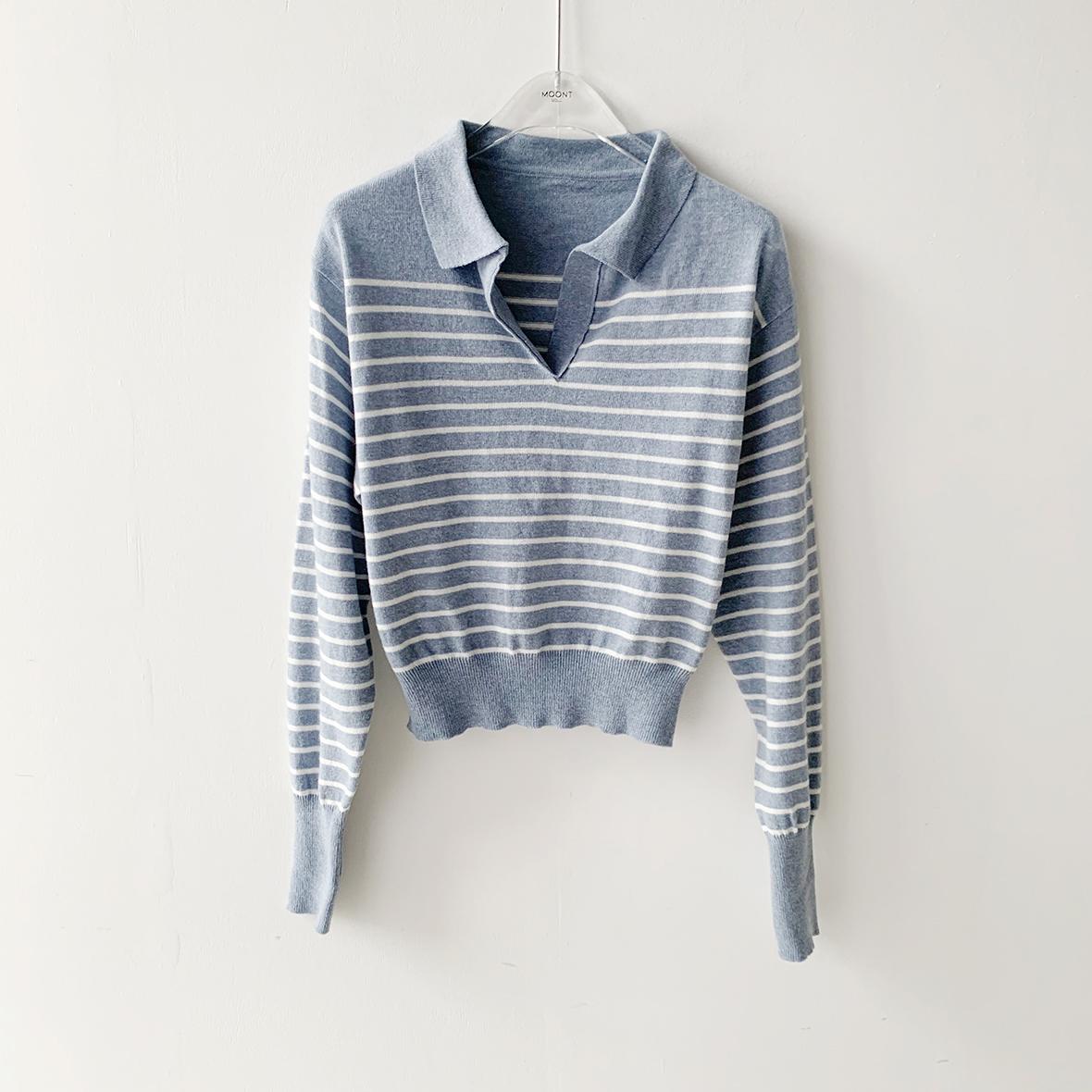긴팔 티셔츠 라벤더 색상 이미지-S1L37